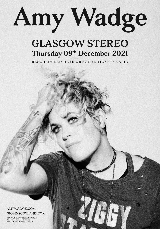 Glasgow, Stereo. Thursday, December 9th 2021